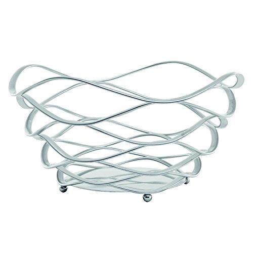 Scallop Basket - Service Ideas BKSCRD9 Basket, Scallop Design, Round, 9
