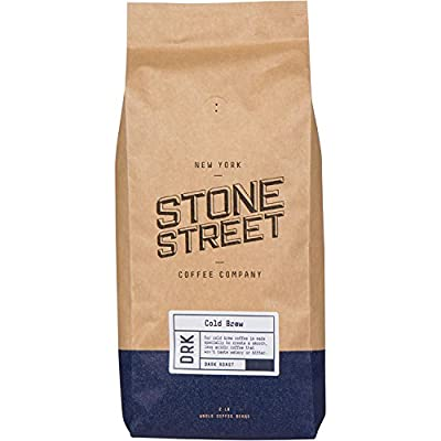 COLD BREW RESERVE Coffee   Med-Dark Roasted for Full-Bodied, Smooth, Low-Acidity, Robust Flavor   Various Sizes from Stone Street Coffee Company