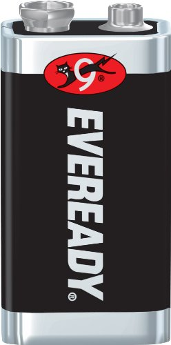 - Energizer Eveready Super Heavy Duty Battery, 9 Volt Size (Pack of 18)