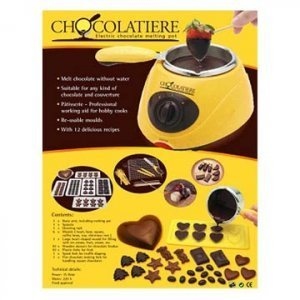 Chocolatiere Electric Chocolate Maker Melting Pot (Chocolate Factory Maker compare prices)