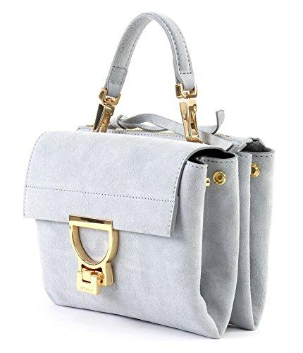 COCCINELLE Arlettis Suede Small Handbag Iris