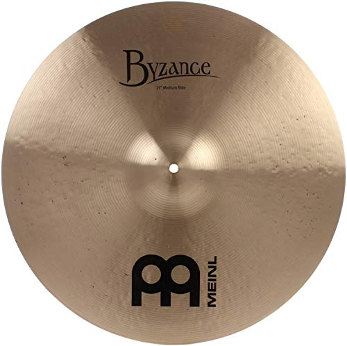 Ride Traditional Cymbal - Meinl Cymbals B21MR Byzance 21-Inch Traditional Medium Ride Cymbal (VIDEO)