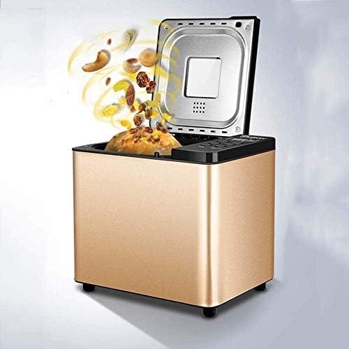 MISLD Enregistrer Kaikai Machine À Pain, 19 Fonctions Prédéfinies, Temporisation Réglages Chauds, Fruits et Distributeur Automatique de Noix lxhff