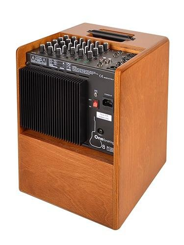 Acus Sound Engineering 03000801 OneforStrings 8 Acoustic Guitar Amplifier - Wood by Acus Sound Engineering