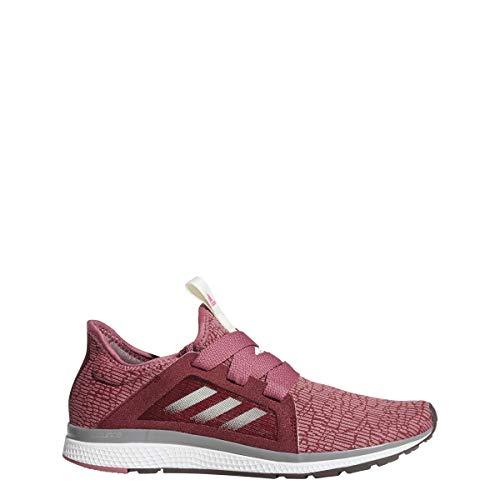 adidas Women's Edge Lux Running Shoe, Noble Maroon/Night Red/Shock Pink, 5 M US