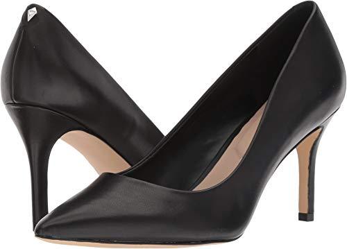 ALDO Women's CORONITI Pump, Black Leather, 6 B US