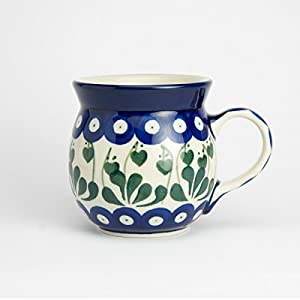 Polish Pottery Lady Mug – Love Leaf