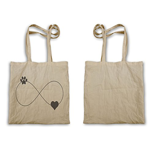 print bag print and Paw heart Tote Paw heart Tote infinity u884r infinity and PqROYwq