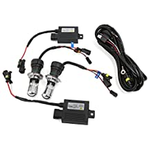 uxcell® Car H4 Xenon Light Hi-Lo Bi-Xenon 55W HID Slim Conversion Kit 6000K