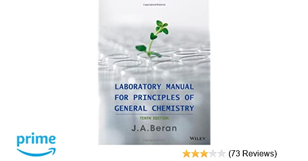 Amazon laboratory manual for principles of general chemistry amazon laboratory manual for principles of general chemistry 9781118621516 jo a beran books fandeluxe Gallery