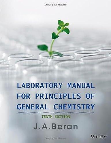 amazon com laboratory manual for principles of general chemistry rh amazon com General Chemistry Lab Experiments General Chemistry Lab Experiments Answers