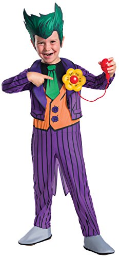 Rubie's Costume Boys DC Comics Deluxe The Joker Costume, Small, Multicolor - The Joker Costume Classic