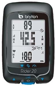 Cateye FA003820004 Bryton Rider 20t HRM - Ordenador para bicicleta, color negro