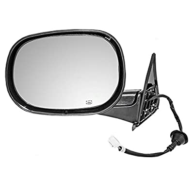 Drivers Power Side View Mirror Heated Replacement for Dodge Pickup Truck 55076489AG