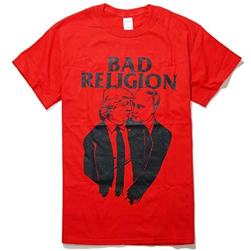 亜熱帯持続する太陽(バッド?レリジョン) BAD RELIGION Tシャツ 公式 TrumPutin - Red