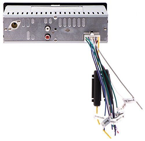 41LkYDP4W8L amazon com sound storm ml39usa single din mech less multimedia XO Vision Wiring Harness Diagram at soozxer.org