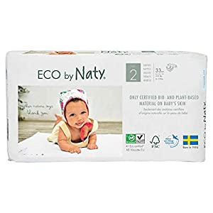 Eco by Naty 33 Nappies, 3-6 kg