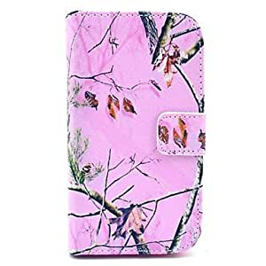 SHOUJIKE Pink Camo Tree Pattern Soft Case for Samsung Galaxy Core I8262