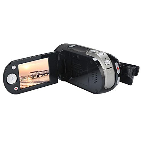 HP95 HD 1080P 16 Million Pixels Handheld Digital Camera 2.4 inch TFT-LCD 16X Digital Zoom Video Camcorder,Expandable SD card/HCSD card to 32GB by HP95-Digital Camera