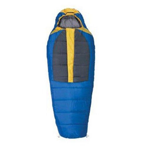 Rokk Icefall 48-Ounce Mummy Sleeping Bag (Blue/Grey), Outdoor Stuffs