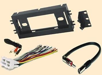 Amazon.com: Radio Stereo Install Single Din Dash Kit + wire harness