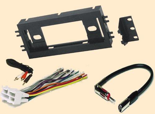 Camaro 90 91 92 Car - Radio Stereo Install Single Din Dash Kit + wire harness + antenna adapter for Chevy Chevrolet Camaro 90-96 and Pontiac Firebird 1990 1991 1992 1993 1994 1995 1996 1997 1998 1999