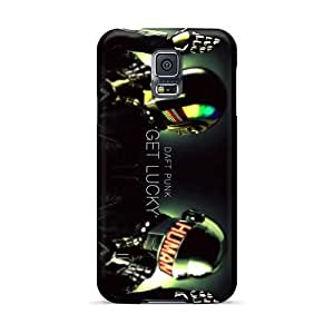 Great Hard Phone Cases For Samsung Galaxy S5 (qLW292ndcS) Allow Personal Design High-definition Daft Punk Band Skin