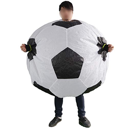Sumo Inflatable Clothing Outdoor Sports Football Inflatable Wrestler Set Halloween Party Cosplay Walking Performance Props for Adults]()