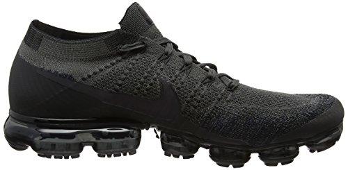 Nike Mens Air Vapormax Flyknit Scarpa Da Corsa Mezzanotte Nebbia / Nero
