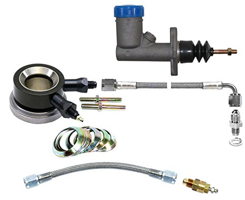 NEW SOUTHWEST SPEED HYDRAULIC THROWOUT RELEASE BEARING & MASTER CYLINDER WITH CLUTCH LINE KIT & REMOTE BLEEDER KIT FOR 10.5