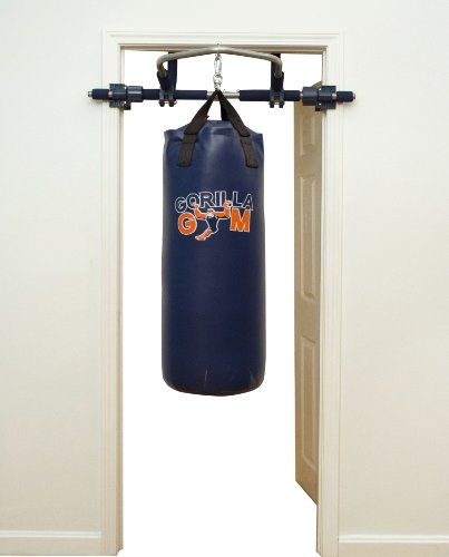 Home Gym Heavy Bag: Gorilla Gym Heavy Punching Bag With Frame For Boxing At