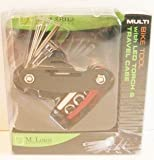 M. Louis Accessories Multi Bike Tool with LED Torch & Travel Case