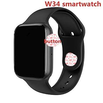 Amazon.com: RONSHIN Men Women W34 Bluetooth Call Smart Watch ...
