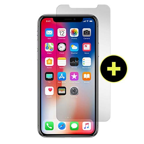 (Gadget Guard Black Ice+ Edition Insured Curved-Tempered Glass Screen Protector for Apple iPhone XR)