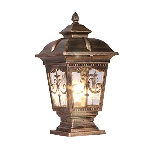 Outdoor Patio Column Lighting