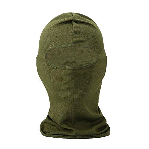 Leegoal(TM) Ultra Thin Balaclava Face Mask Ski Bike Motorcycle Helmets for Men and Women (Army Green)