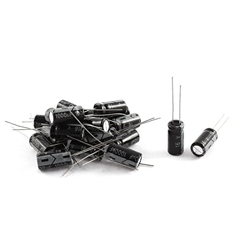 5C Radial Lead Electrolytic Capacitor 8mm x 16mm 20Pcs (16v Electrolytic Capacitors)