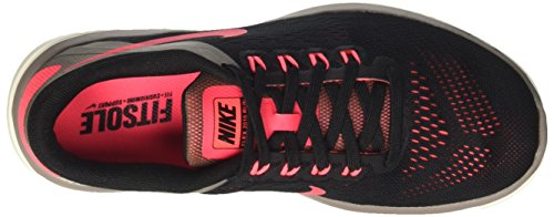 Nike Wmns Flex 2016 Rn, Zapatillas de Running para Mujer Varios colores (Negro / Rosa / Black / Hot Punch / Dark Mushroom / Sail)