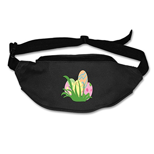 SEVTNY Waist Bag Clipart Of Easter Eggs 20 Fanny Pack Stealth Travel bum Bags Running Pocket For Men Women