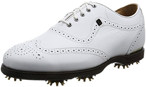 FootJoy  Men's Icon Black Closeout Golf Shoes - 9 2E US (Best Price Footjoy Dryjoy Golf Shoes)