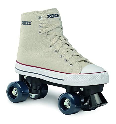 (Roces 550030 Model Chuck Roller Skate,Cream,7USW,5USM,38EU,4UK)