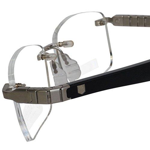 Tag eyeglasses rimless