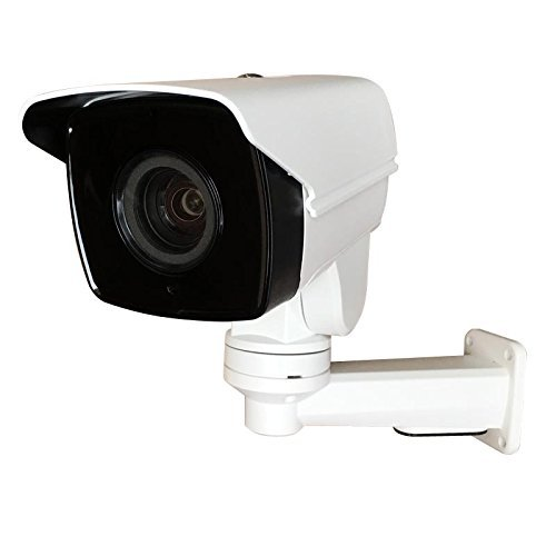 New 4MP 10x optical Zoom Mini PTZ Outdoor IP Camera POE IR H.265 IP66 HD TF Card Slot Contains Bracket ()