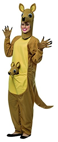 Rasta Imposta Women's Kangaroo Costume, Brown, Small/Medium