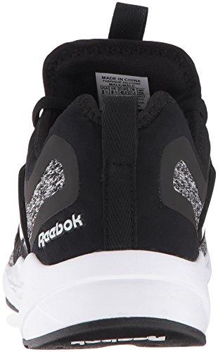 Reebok Fashion Sneaker Mens Mens Reebok Adapt White Fury Black qRrq6X