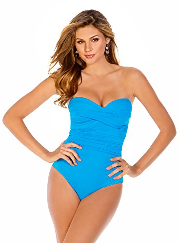 Miraclesuit 1 piece Turquoise Blue Swimsuit Barcelona Must Haves