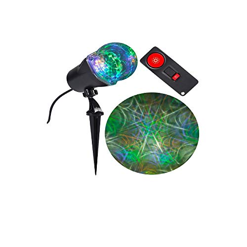 Spiderweb Halloween Projection - 15 Color Combos -