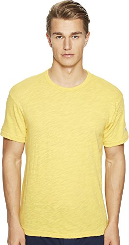 Todd Snyder + Champion Men's Basic Tee Golden Yellow T-Shirt (Merchandise Canada)