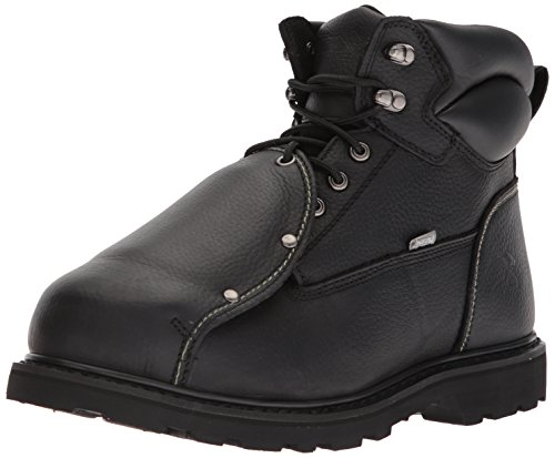 Metatarsal Safety Boots Guard (Iron Age Men's Ia5016 Ground Breaker Industrial and Construction Shoe, Black, 13 M US)