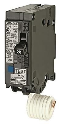 Siemens 15-Amp Single Pole 120-volt Plug-On Combination AFCI Breaker